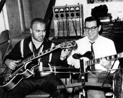 Robert White and Joe Messina