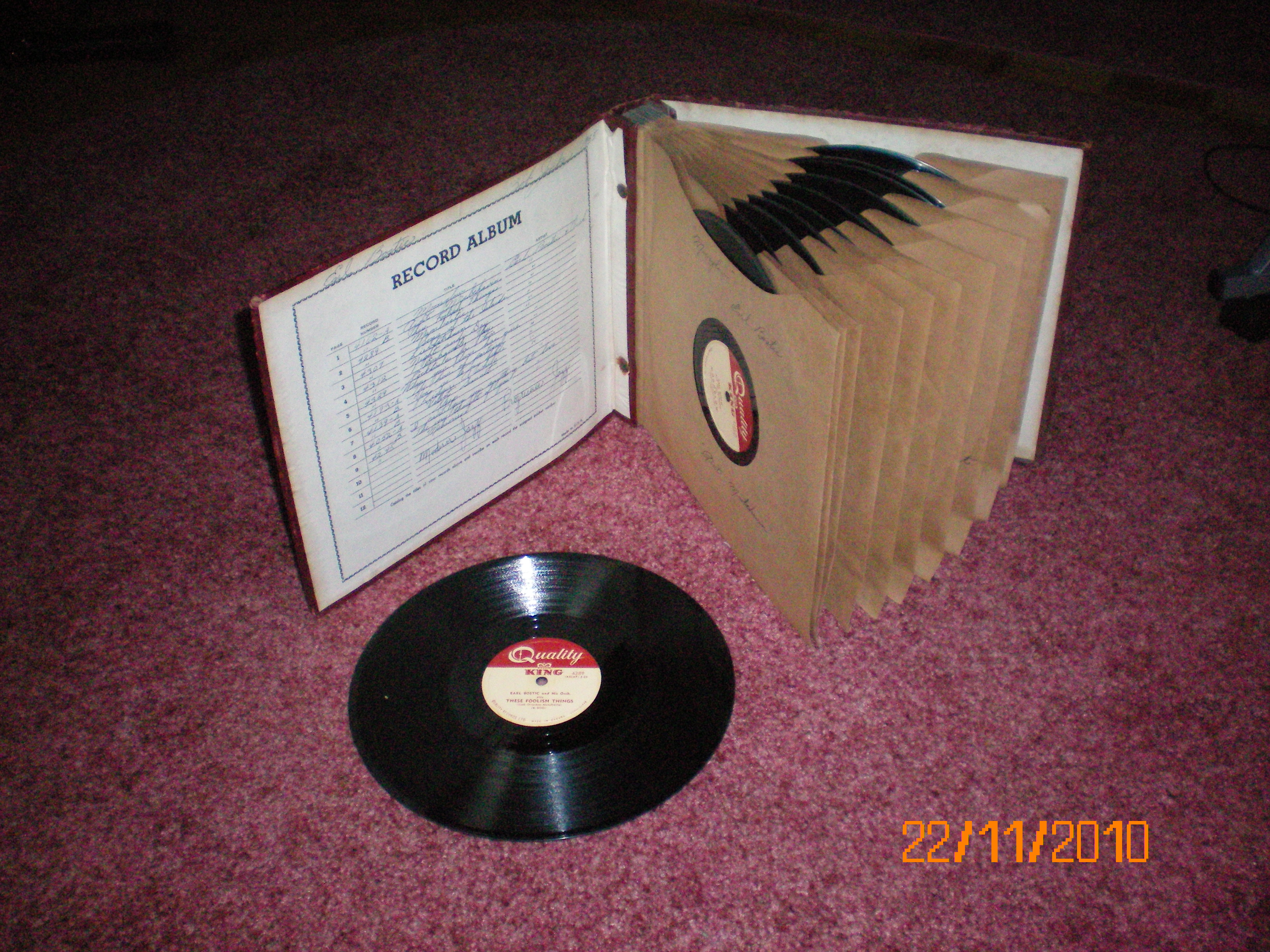 Russ s old 78s r b album russ gary 39 s the best years for What to do with old vinyl records
