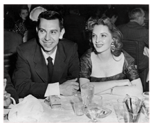 Jack Webb and Julie