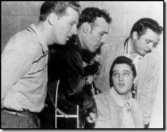 Million Dollar Quartet - Jerry, Carl, Johnny, Elvis
