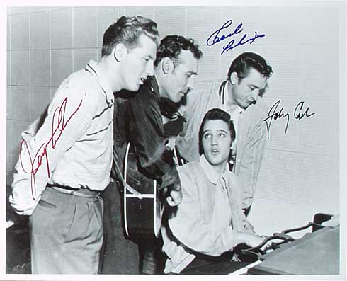Million Dollar Quartet - with autographs