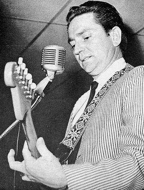 Willie Nelson performing on a Grand Ole Opry package show in 1965