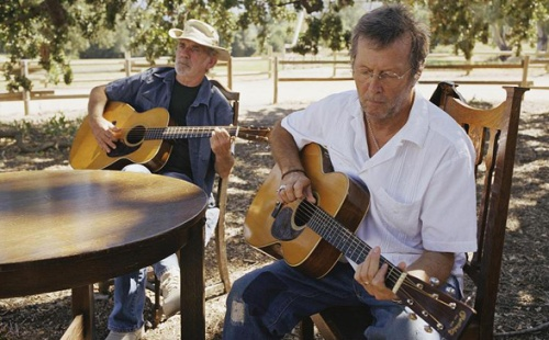 J J Cale and Eric Clapton