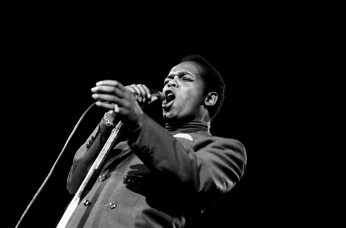 Lou Rawls performing at the Monterey Pop Festival, 16.06.1967 - 01
