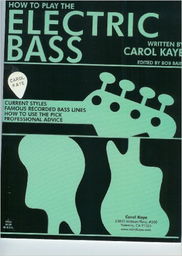 carol kaye how to play the electric bass